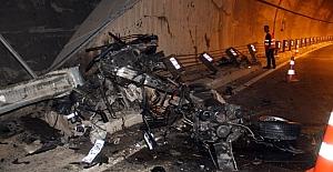 Alanya'da aşırı hız sonrası acı tablo