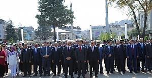 Atatürk'ün Ordu'ya gelişinin 93'üncü yıldönümü kutlandı