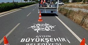 Aydın'da güvenli trafik için çalışmalar devam ediyor
