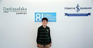 Aydın'ın gururu Batuhan Arslan Bacaksız, Darüşşafaka'da eğitim görecek