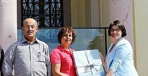 Ayvalık Rahmi M. Koç Müzesi'nde 100 bininci ziyaretçiye ilginç sürpriz