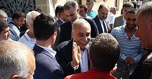 Bakan Fakıbaba Şanlıurfa'dan ayrıldı
