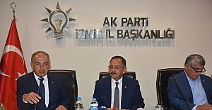 """Bakan Özhaseki'den terör örgütlerine: """"Ayağa kalkamayacaklar"""""""