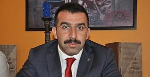 """Başkan Adem Çalkın, """"AK Parti Kars'ı şantiyeye çevirdi"""""""