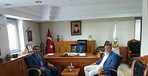 Başkan Duymuş, bölge müdürleriyle bir araya geldi