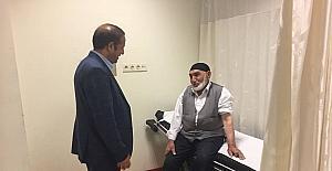 Başkan Toltar hasta ziyaretleri gerçekleştirdi