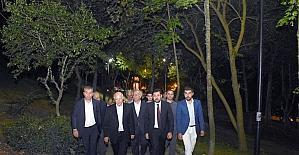 Beşiktaşta Muharrem ayı iftarı