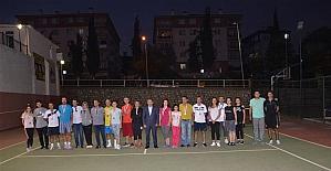 Bilecik'te Veteran Çiftler Tenis Turnuvası yapıldı