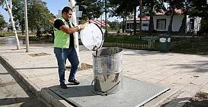 Büyükşehir'in yeraltı çöp konteynırları kışa hazır