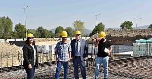 Çorbacı, Yeni Otobüs Terminali İnşaatı'nda incelemelerde bulundu