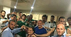 Düzce Belediyespor'a federasyon kupası moral oldu
