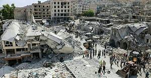 Esad sivilleri vurdu: ölümler var
