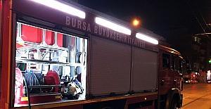 Eski polis memuru kapısı içeriden kilitlenen evde yanarak can verdi