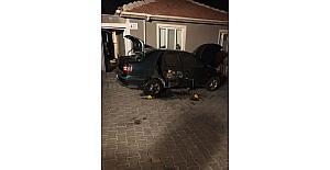 Eskişehir'de araç kundaklama iddiası