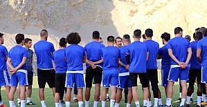 Evkur Yeni Malatyaspor kupa maçı için Bursa'ya gitti