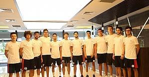 Gaziantep Basketbol Gelişim takımı sağlık kontrolünden geçti