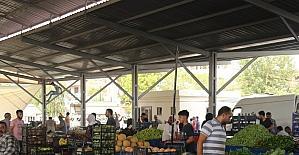 Güneş Mahallesi kapalı semt pazarı hizmete girdi