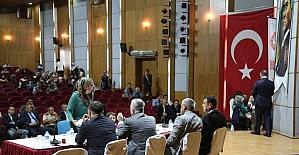 Halk Toplantısı Vali Kamçı Başkanlığında Yapıldı