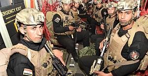 Irak ve Türk ordusu ortak tatbikatta