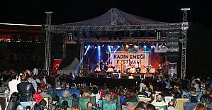 """""""Kadın Emeği Festivali"""" Şevval Sam konseriyle final yaptı"""