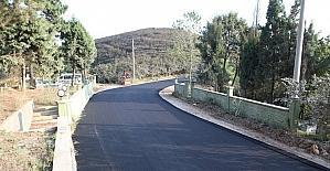 Karasu Akkum ve Karapınar'da asfalt tamam