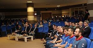 """KBÜ'de Kimyasal Kökenli Teknolojik Afetler Çalıştayı"""" düzenlendi."""