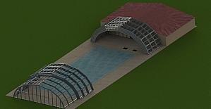 Kumluca'ya Skyline yüzme havuzu yapılıyor