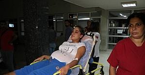 Magandalar havaya ateş açtı, 1'i hamile 2 kadın yaralandı