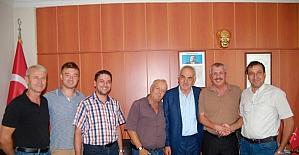 Malkara Ziraat Odası'ndan sürek avına destek