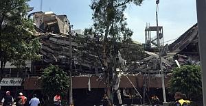 Meksika'daki deprem de 224 kişi öldü
