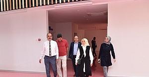 Milletvekili Leyla Şahin Usta SOBE'yi ziyaret etti