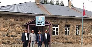 Milli Eğitim Müdürü Can, köy okullarında incelemeler de bulundu