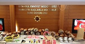 Narkotik polisinden 8 ilçede 7 ayrı operasyon