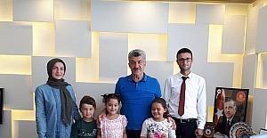 Öğrencilerden Başkan Yiğit'e ziyaret