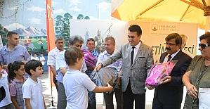 Öğrencilerin kırtasiye malzemeleri Osmangazi'den