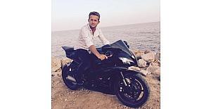 Otomobile arkadan çarpan motosiklet sürücüsü hayatını kaybetti