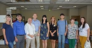 Ruslar, Bursa'nın termal fizik tedavi ve rehabilitasyon merkezine hayran kaldı
