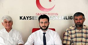 """Saadet Partisi Kocasinan İlçe Başkanı Av. Mükremin Çuhadar: """"Adil olarak bir sınıflandırma yapacak sistemin getirilmesini önemsiyoruz"""""""