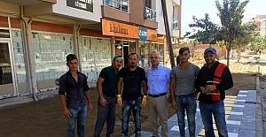 Salihli'de prestij cadde çalışmaları tüm hızıyla sürüyor