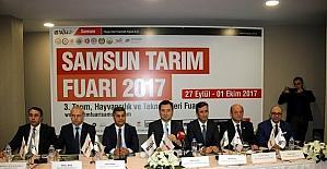 Samsun Tarım Fuarı 3. kez kapılarını açıyor