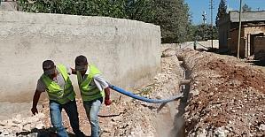 Şanlıurfa'da kırsal mahalleler içme suyuna kavuşuyor
