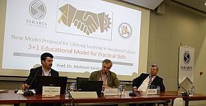 SAÜ'nün 3+1 eğitim modeli Avrupa'da anlatıldı