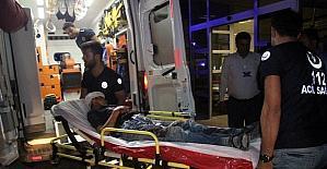 Suriye'de el yapımı patlayıcı infilak etti: 2 yaralı