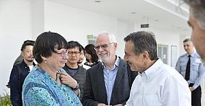 Toprağın sanatçıları Başkan Ataç'ı ziyaret etti