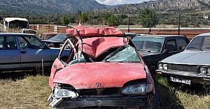 Tosyada trafik kazası: 1 yaralı