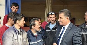 """Tuna; """"Esnafımız, Türk ekonomisinin bel kemiğidir"""""""
