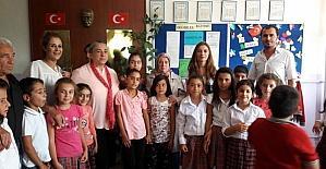 Tunceli'de okullara yardım