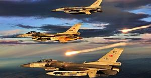 Türk uçakları PKK'ya bomba yağdırdı
