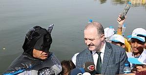 """Tuşba'da """"Poşeti Azalt Van Gölü'nü Yaşat"""" kampanyası"""