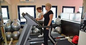 Ücretsiz spor salonlarından 15 bin kişi faydalandı